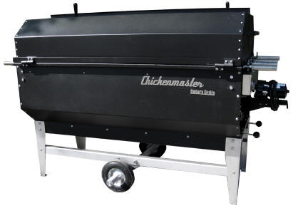 Chicken Pro charcoal rotisserie grill by Chickenmaster Grills is the best big charcoal grill on earth