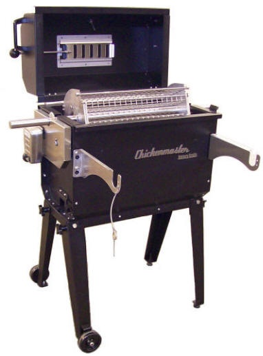 Rib Pro Charcoal Rotisserie Grill by Chickenmaster