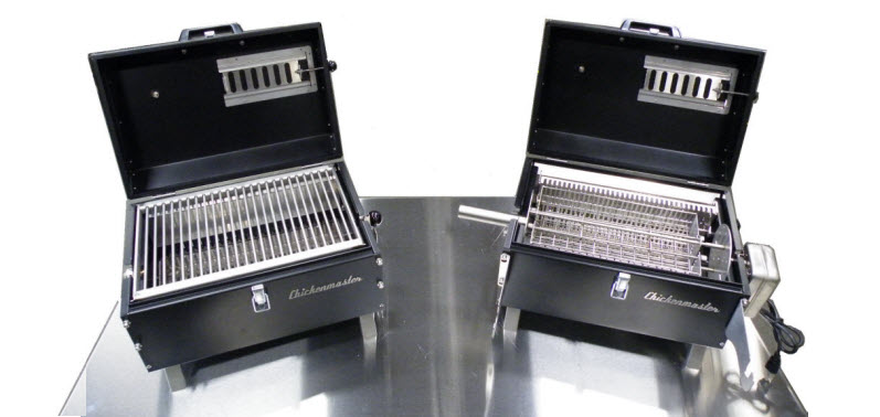 Lunchbox XL Grill by Chickenmaster best small charcoal grill