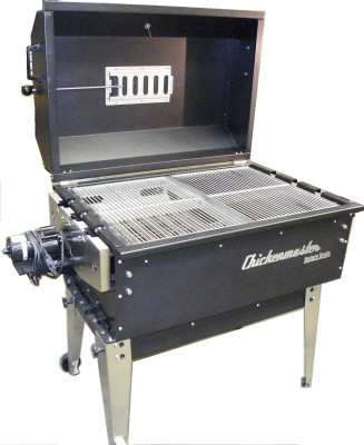 Party Pro Charcoal Rotisserie BBQ grill by Chickenmaster